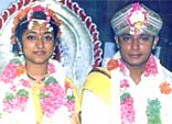 darshan wedding