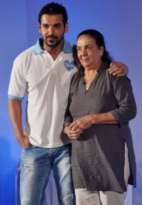 John Abraham family photos