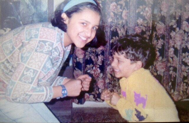 Parineeti Chopra With Brothers Childhood Pictures