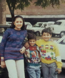 Parineeti Chopra childhood pictures