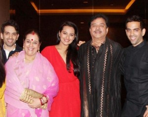 Sonakshi Sinha family photos