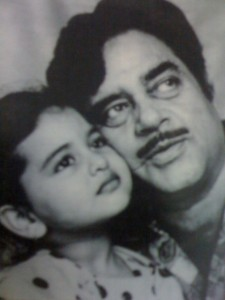 Sonakshi Sinha childhood pictures