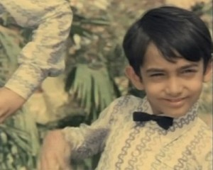 Aamir khan childhood pictures 5