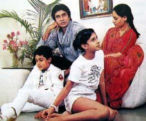 Abhishek Bachchan childhood pictures 3