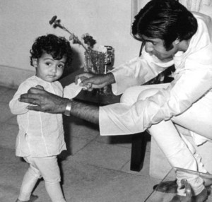 Abhishek Bachchan childhood pictures 9