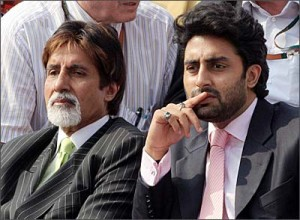 Abhishek Bachchan family photos father Amitabh Bachchan