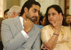 Abhishek Bachchan family photos mother Jaya Bachchan