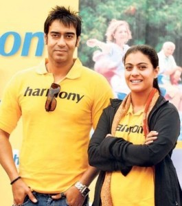 Ajay Devgn family photos wife Kajol