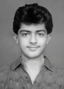 Ajith Kumar childhood pictures 1