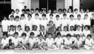 Ajith Kumar childhood pictures