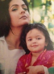 Alia Bhatt childhood pictures 11
