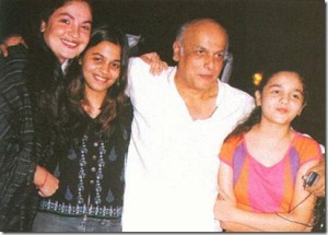 Alia Bhatt childhood pictures 4
