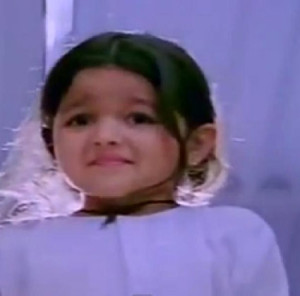 Alia Bhatt childhood pictures 5