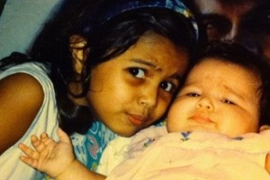 Alia Bhatt childhood pictures 7