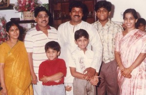 Allu Arjun childhood pictures 1