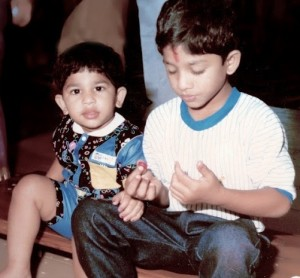 Allu Arjun childhood pictures 2