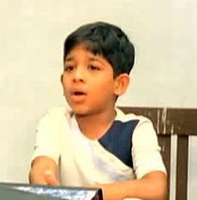 Allu Arjun childhood pictures 5