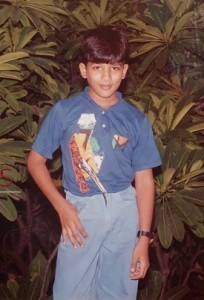 Allu Arjun childhood pictures 8