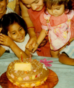 Anushka Sharma childhood pictures 2
