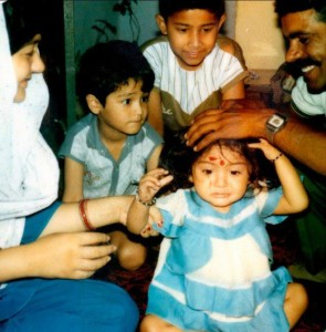Anushka Sharma childhood pictures 2b