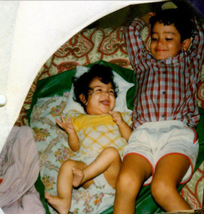 Anushka Sharma childhood pictures 3