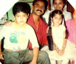 Anushka Sharma childhood pictures 4b