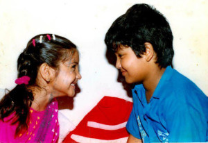 Anushka Sharma childhood pictures 6