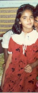 Anushka Shetty childhood pictures 1