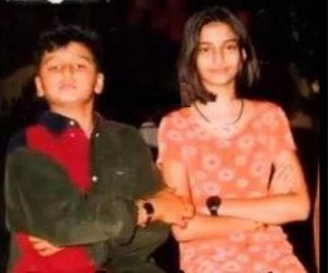 Arjun Kapoor childhood pictures 1