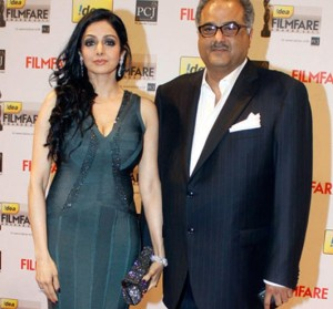 Arjun Kapoor family photos step mother Sridevi