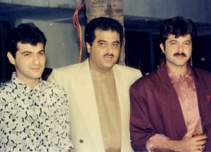 Anil Kapoor & Sanjay Kapoor with Boney