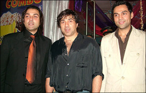 Bobby Deol family photos cousin Abhay Deol