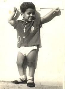 Chiyaan Vikram childhood pictures 2