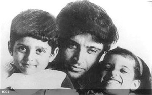 Farhan Akhtar childhood pictures 4