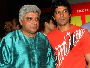Farhan Akhtar family photos father Javed Akhtar