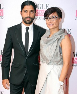 Farhan Akhtar family photos wife