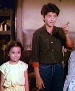 Hrithik Roshan childhood pictures 1