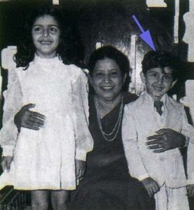 Hrithik Roshan childhood pictures 3