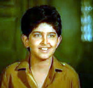 Hrithik Roshan childhood pictures 4