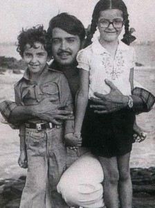Hrithik Roshan childhood pictures 8