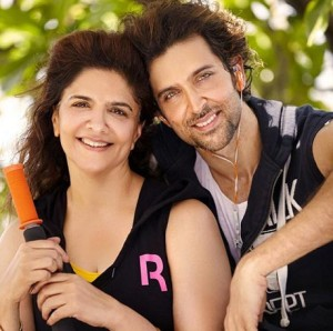 Hrithik Roshan family photos mother Pinky Roshan