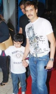 Jimmy Shergill family photos son Veer Shergill