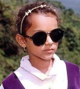 Kangana Ranaut childhood pictures 1