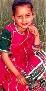 Kangana Ranaut childhood pictures 3