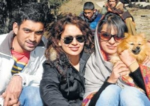 Kangana Ranaut family photos brother Akshat