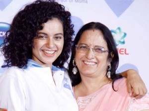 Kangana Ranaut family photos mother Asha Ranaut