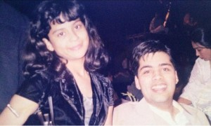 Karan Johar childhood pictures 1