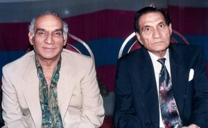 Uncles Yash Chopra and B.R.Chopra