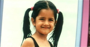 Katrina Kaif childhood pictures 2