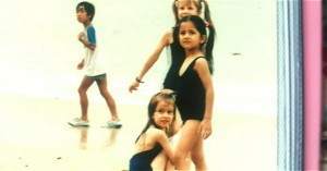 Katrina Kaif childhood pictures 7